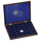 Coffret Numismatique VOLTERRA UNO de luxe, avec 20pce commém. allemandes