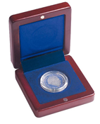 Small coin box VOLTERRA, for 1 coin up to 41 mm Ø
