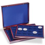 Coffret Numismatique VOLTERRA TRIO de luxe, avec de chacune 20pièces jusqu'
