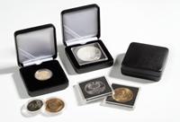 Møntetui i metal t/møntkapsler Ø 44 mm, caps38