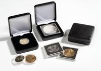 Ecrin Numismatique NOBILE pour pièces jusqu'à Ø 26  mm, noir