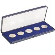 Astucci per monete in acrilico - per monete fino a  60 mm Ï - 200 x 80 mm