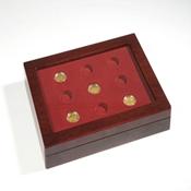 Coffret Numismatique VOLTERRA DUO, pour 9 pìeces allemandes de 100 euros en