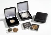 Ecrin Numismatique NOBILE pour 1 QUADRUM, 50x50 mm, noir