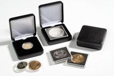 Ecrin Numismatique NOBILE pour pièces jusqu'à Ø 30  mm, noir