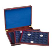 Coffret Numismatique VOLTERRATRIO de luxe, avec de  chacune90pcs de 10€ en caps d'origine