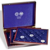 Coffret Numismatique VOLTERRA TRIO de luxe, pour 61 pcs 10-DM commém. Allem