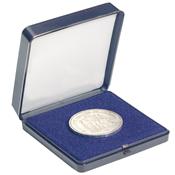 Astucci per monete in acrilico - 1 moneta fino a 60 mm Ï - 80 x 80 mm
