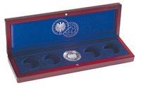 Ecrin Numismatique VOLTERRA, pour commém.5x10€ *CM  football 2006* sous capsule d'origine