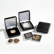 Ecrin Numismatique NOBILE pour pièces jusqu'à Ø 42  mm, noir