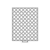 Médaillier 63 compartiments pour CAPS 19, gris
