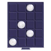 coin box SMART, with 20 square compartments up to 41 mm Ø