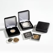 Ecrin Numismatique NOBILE pour pièces jusqu'à Ø 48  mm, noir
