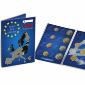 Coin Card for 1 Euro coin set Slovenia