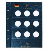 Euro møntblade 10 Euro Tysk