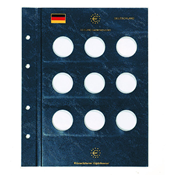 coin sheets VISTA, for German 10-Euro commemorative coins
