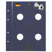 1 muntenblad voor duitse 10 Euro gedenkmunten WK-Voetbal 2006