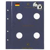 Euro møntblad til tyske 10 euro erindringsmønter