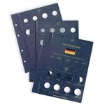 Feuilles Numismatiques VISTA, *Euro* Allemagne pour un total de 5 Séries