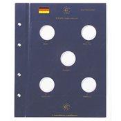 EURO-møntblade - Til tyske 10 Euro erindringsmønter