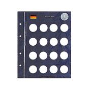 Feuilles Numismatiques VISTA, pour pièces de 5 DM