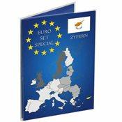 Coin Card for 1 Euro coin set Cyprus