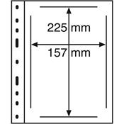 Pochettes plastiques OPTIMA, 1 compartiment pour ETB, transparent