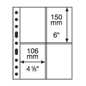 Grand A4 护袋,透明横纵向2条条形,每包5页