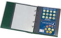 Pochettes plastiques OPTIMA XL, 2 compartiments, transparent