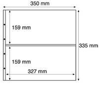 Maximum lommer MAX 7S, sorte Pakke med 5 stk.