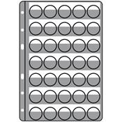 Recharges COMPART, pour 35 muselets de champagne /  capsules, noir