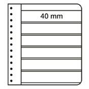 G-indstikskort - Sort - 6 striber