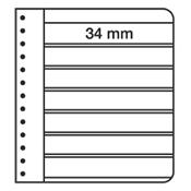 G-indstikskort - Sort - 7 striber
