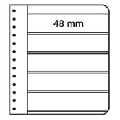 LEUCHTTURM Feuilles G, 5 compartiments, noir