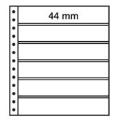LEUCHTTURM Feuilles R, 6 compartiments, noir
