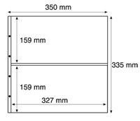 Maximum lommer MAX 7C, klare Pakke med 5 stk.