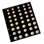 Intercalaires recharges Numismatiques pour Euro-Album OPTIMA