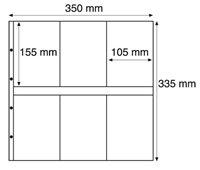 Maximum lommer MAX 3C, klare Pakke med 5 stk.