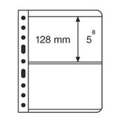 Vario indstikskort - 2 Striber - Klar - Pakke med 5 stk., fra Leuchtturm