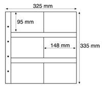 Maximum lommer MAX 5S, sorte Pakke med 5 stk.