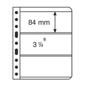 Vario 插卡, 3条透明条形, 每包5张