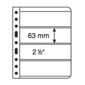 Pochettes plastiques VARIO, 4 compartiments, pellicule transparente