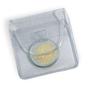 Pochettes Numismatiques à 1 Pièce, 50x50 mm