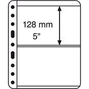 Pochettes plastiques VARIO PLUS, extra rigides, 2 compartiments, noir