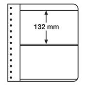 LEUCHTTURM Feuilles G, 2 compartiments, blanc