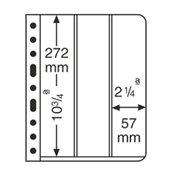 Vario 插卡,3条型,透明,每包5张