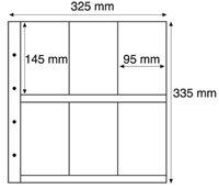 Maximum lommer MAX 6S, sorte Pakke med 5 stk.