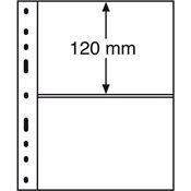 Pochettes OPTIMA de Leuchtturm 2 compartmts, transparent