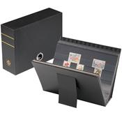 Käytännöllinen kasetti A5-kokoisille säilytyskorteille