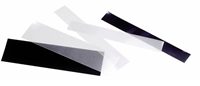 SF-Bandes 265x115 mm double soudure, fond noir - 8  pcs